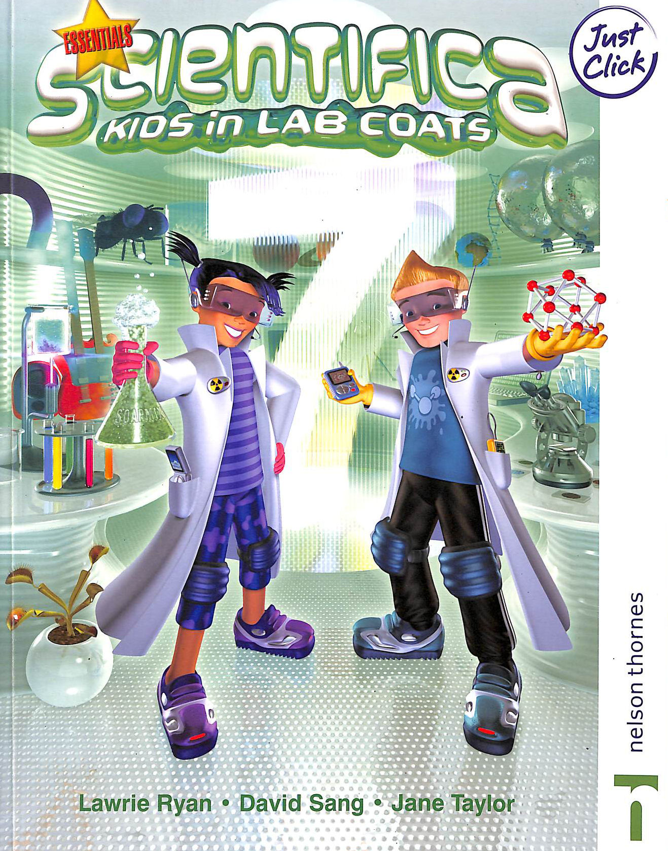 Image for Scientifica: Kids in Lab Coats: For Key Stage 3 Sciencear 7
