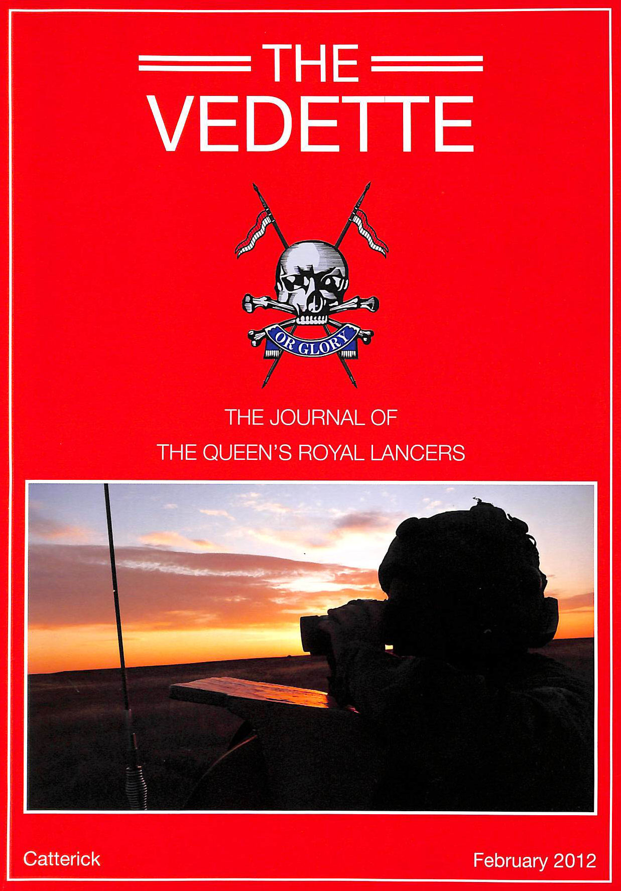 Image for The Vedette: The Journal of the Queen's Royal Lancers, February 2012