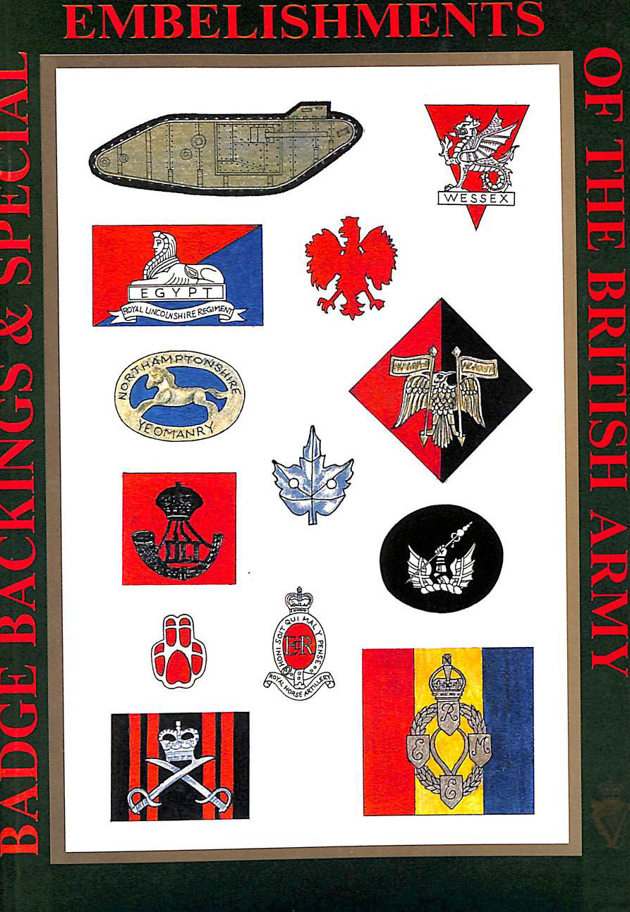 Image for Badge Backings and Special Embellishments of the British Army