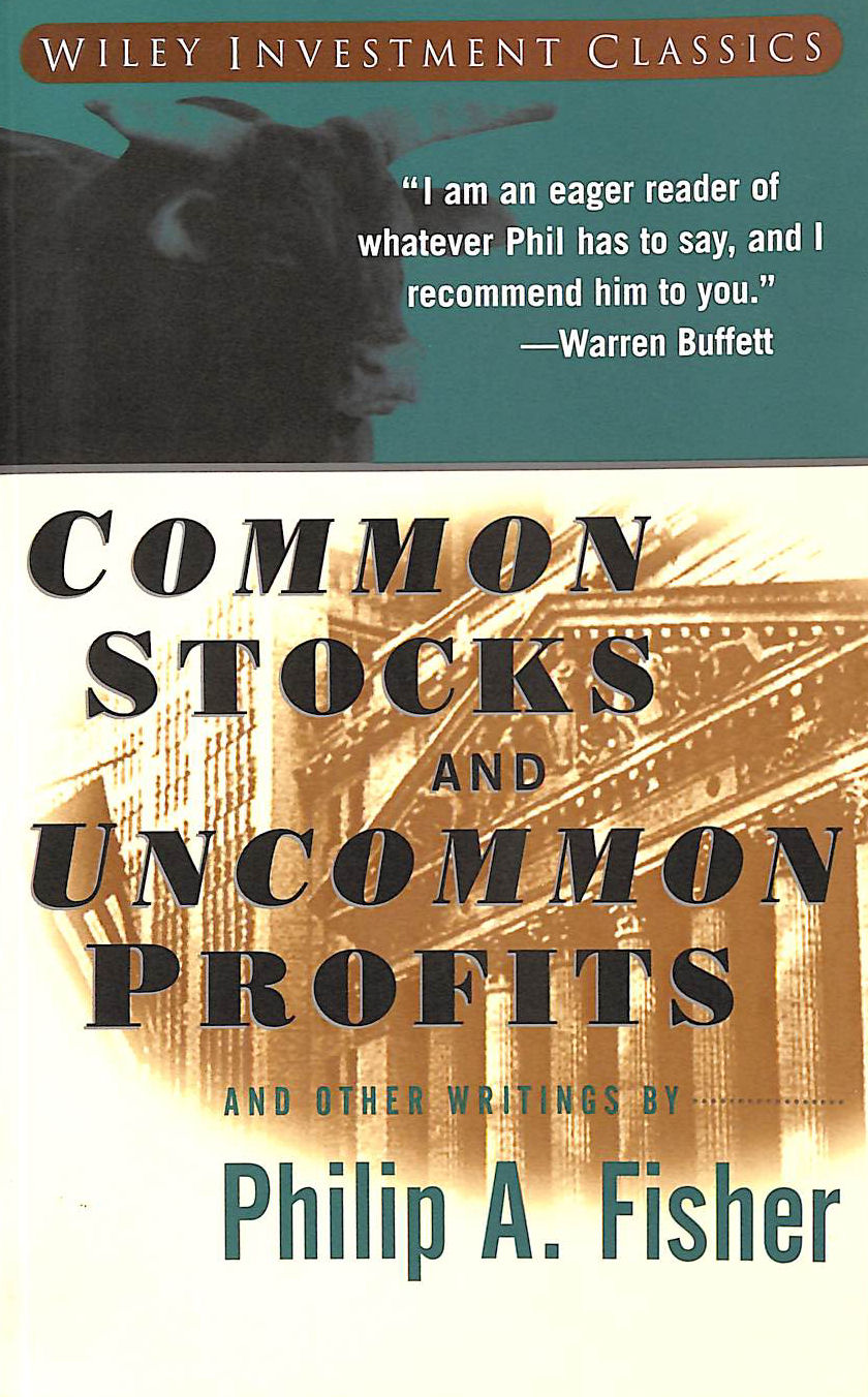 Image for Common Stocks and Uncommon Profits and Other Writings by Philip A Fisher