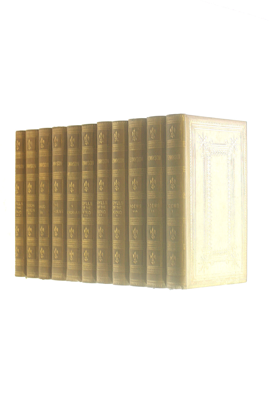 Image for The Works of Alfred Tennyson Poet Laureate 10 Volume Set Plus Volume XI