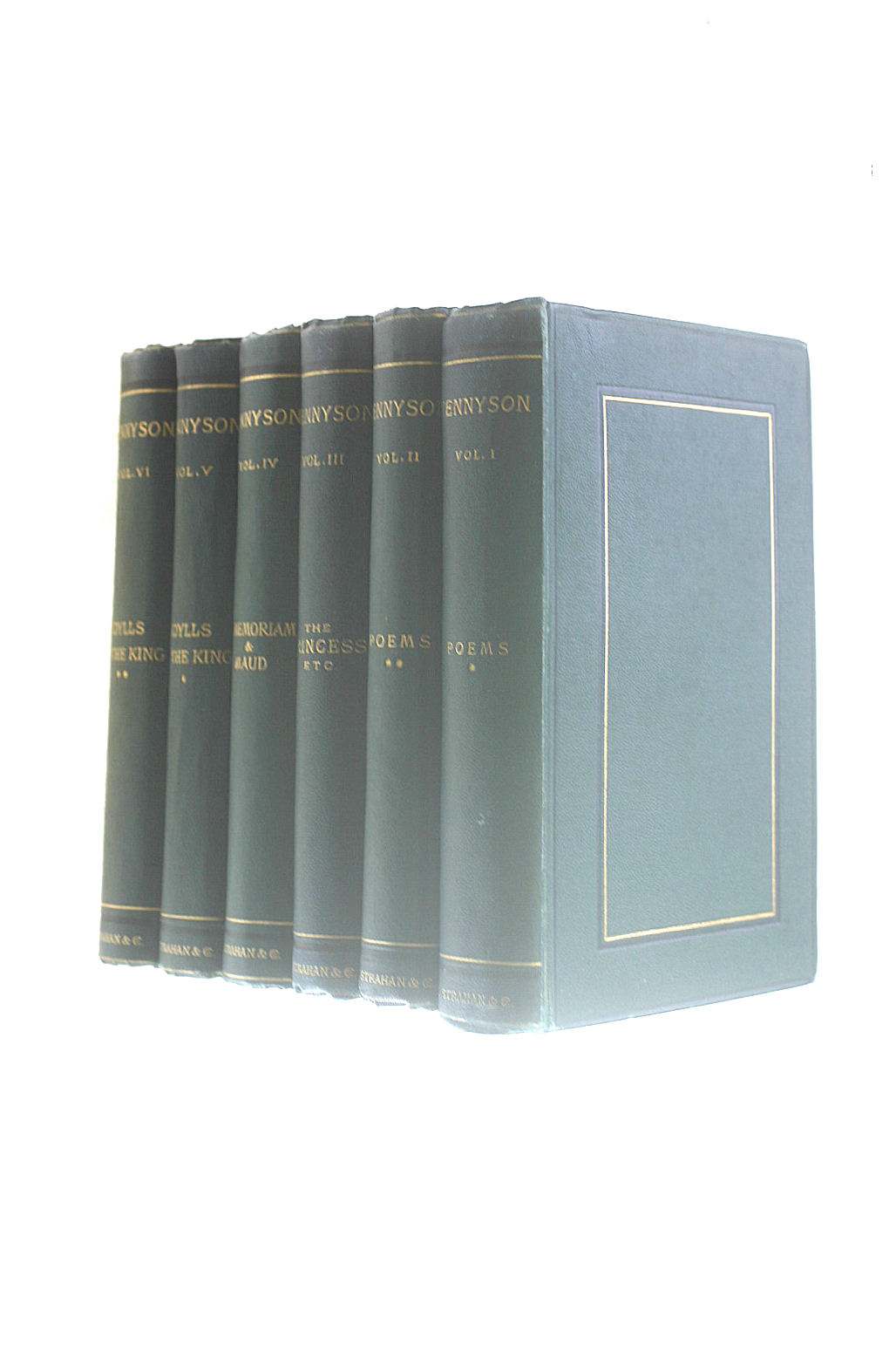 Image for The Works of Alfred Tennyson. Poet Laureate in Six Volumes