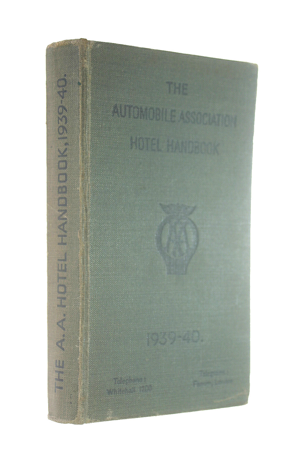 Image for The Automobile Association Hotel Handbook 1939-40