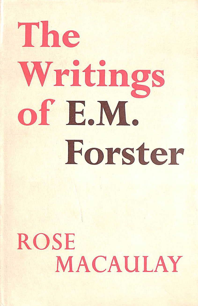 Image for The Writings of E.M. Forster