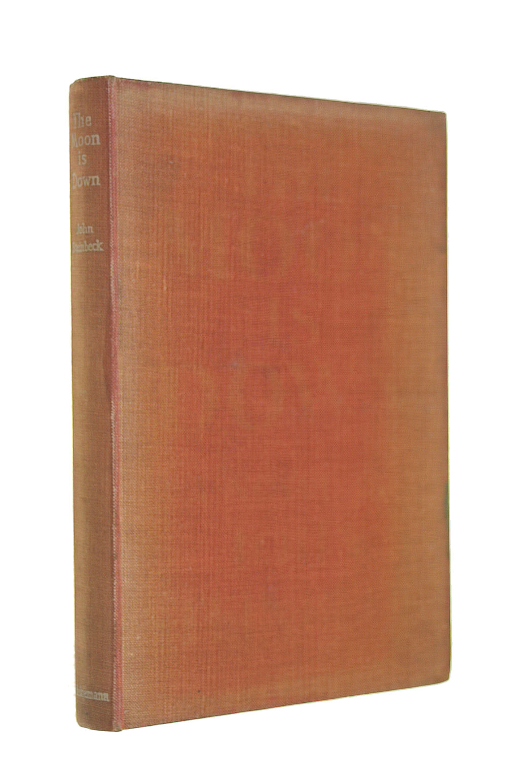 Image for The Moon is Down. First Edition, UK.