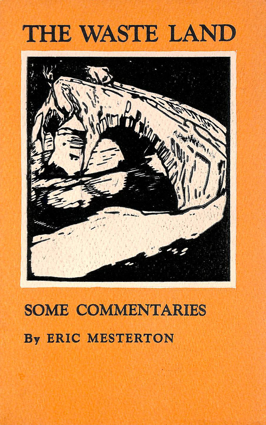 Image for The Waste Land - Some Commentaries