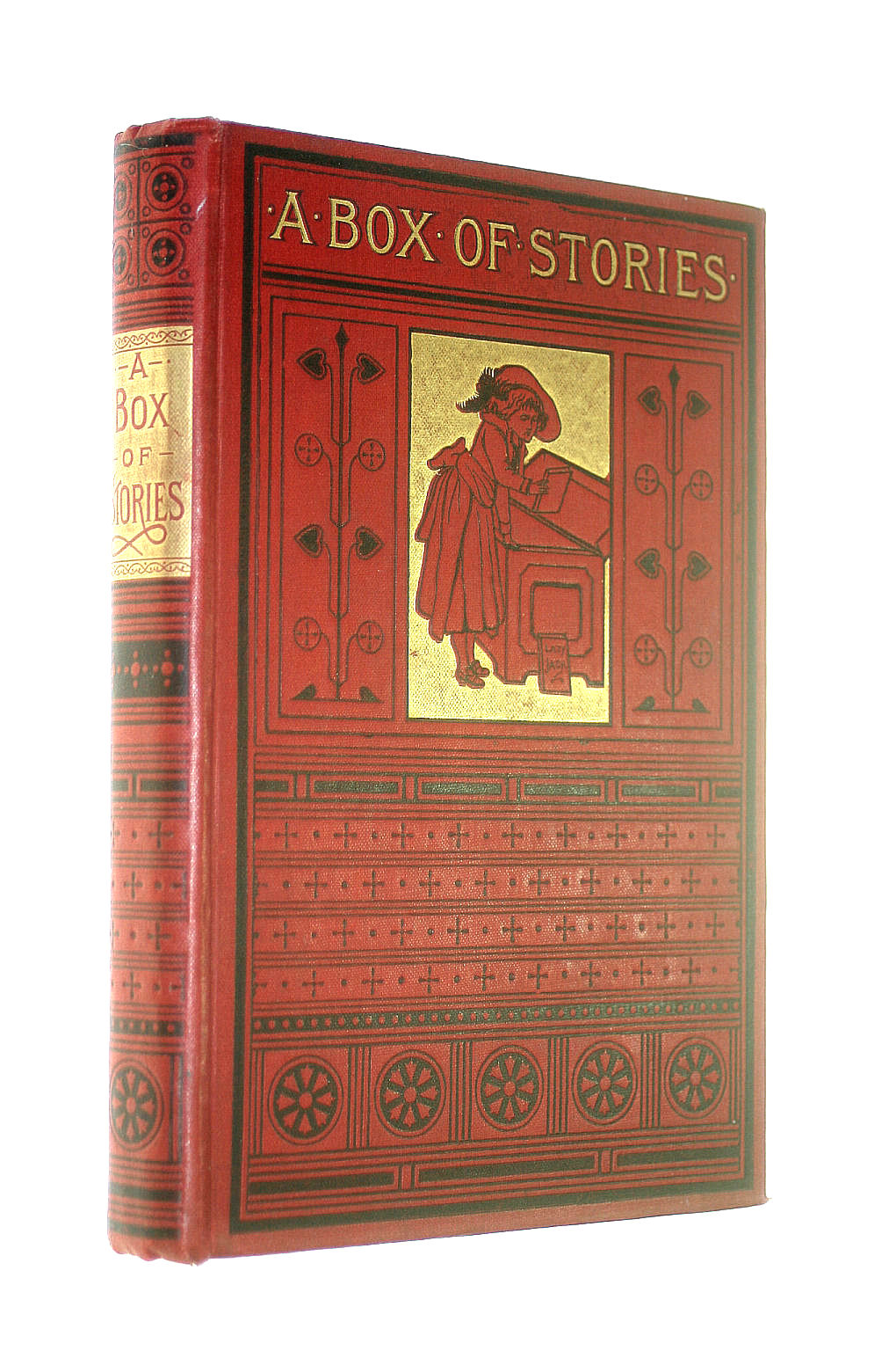 Image for A box of stories. Packed for young folks by Horace Happyman. Illustrated