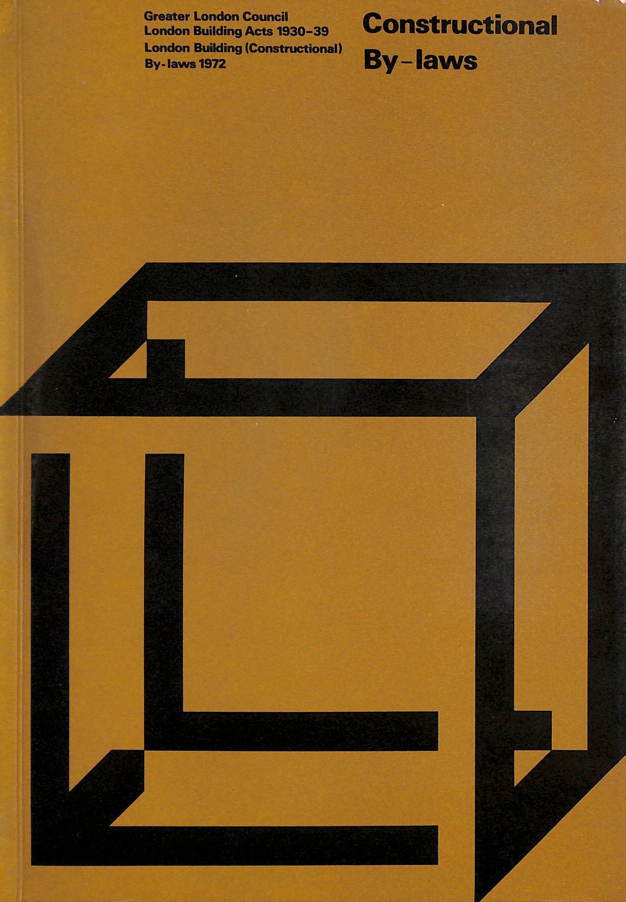 Image for London Building Constructional By-laws 1972