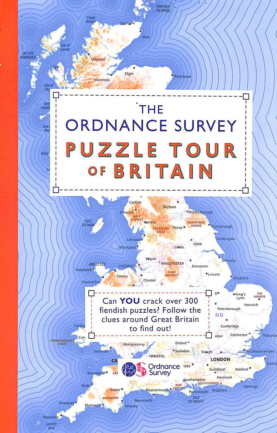 Image for The Ordnance Survey Puzzle Tour of Britain: Take a Puzzle Journey Around Britain From Your Own Home (Puzzle Books)