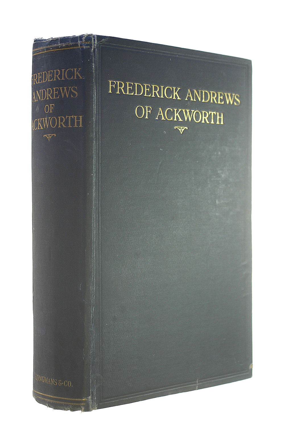 Image for Frederick Andrews of Ackworth