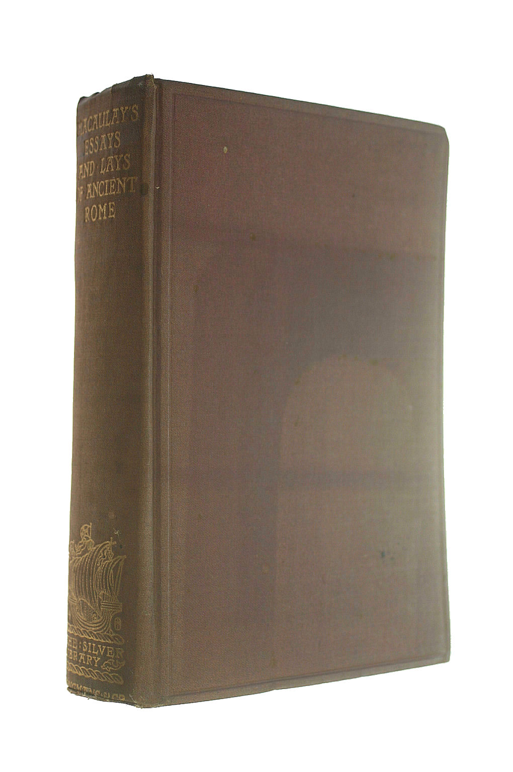 Image for LORD MACAULAY'S ESSAYS AND LAYS OF ANCIENT ROME