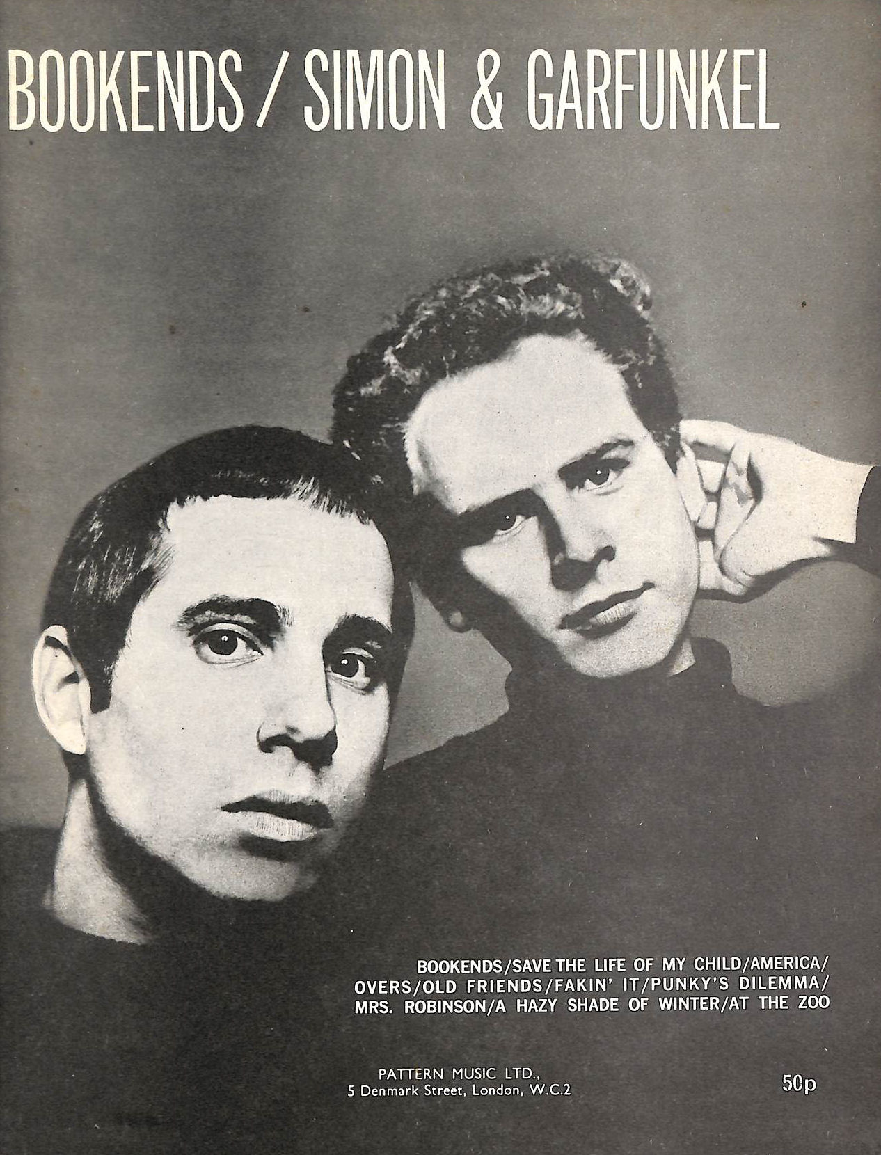 Image for Bookends, Simon & Garfunkel (Paul Simon Song Book No 4)