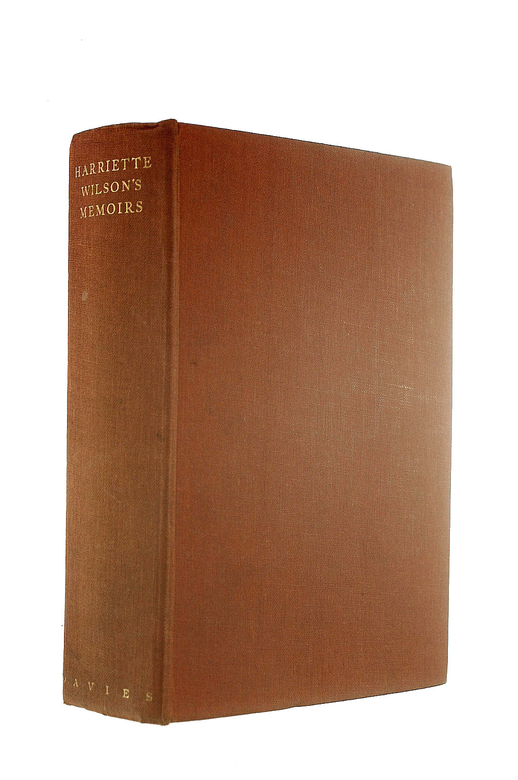 Image for Harriette Wilson's Memoirs of Herself and Others