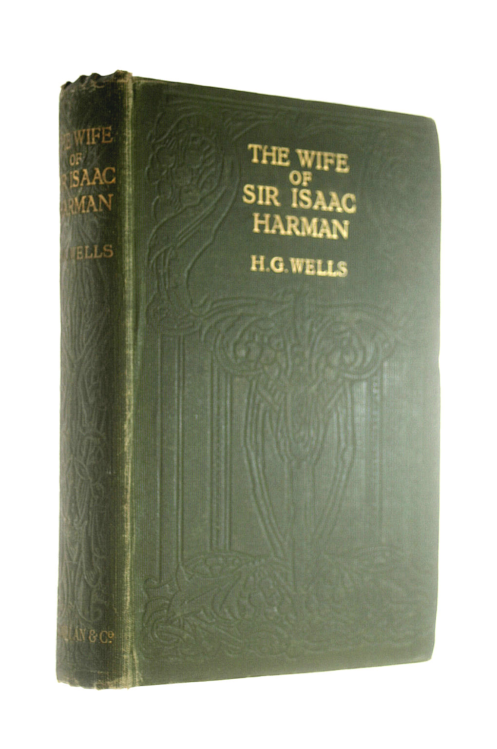 Image for The Wife of Sir Isaac Harman / by H. G. Wells
