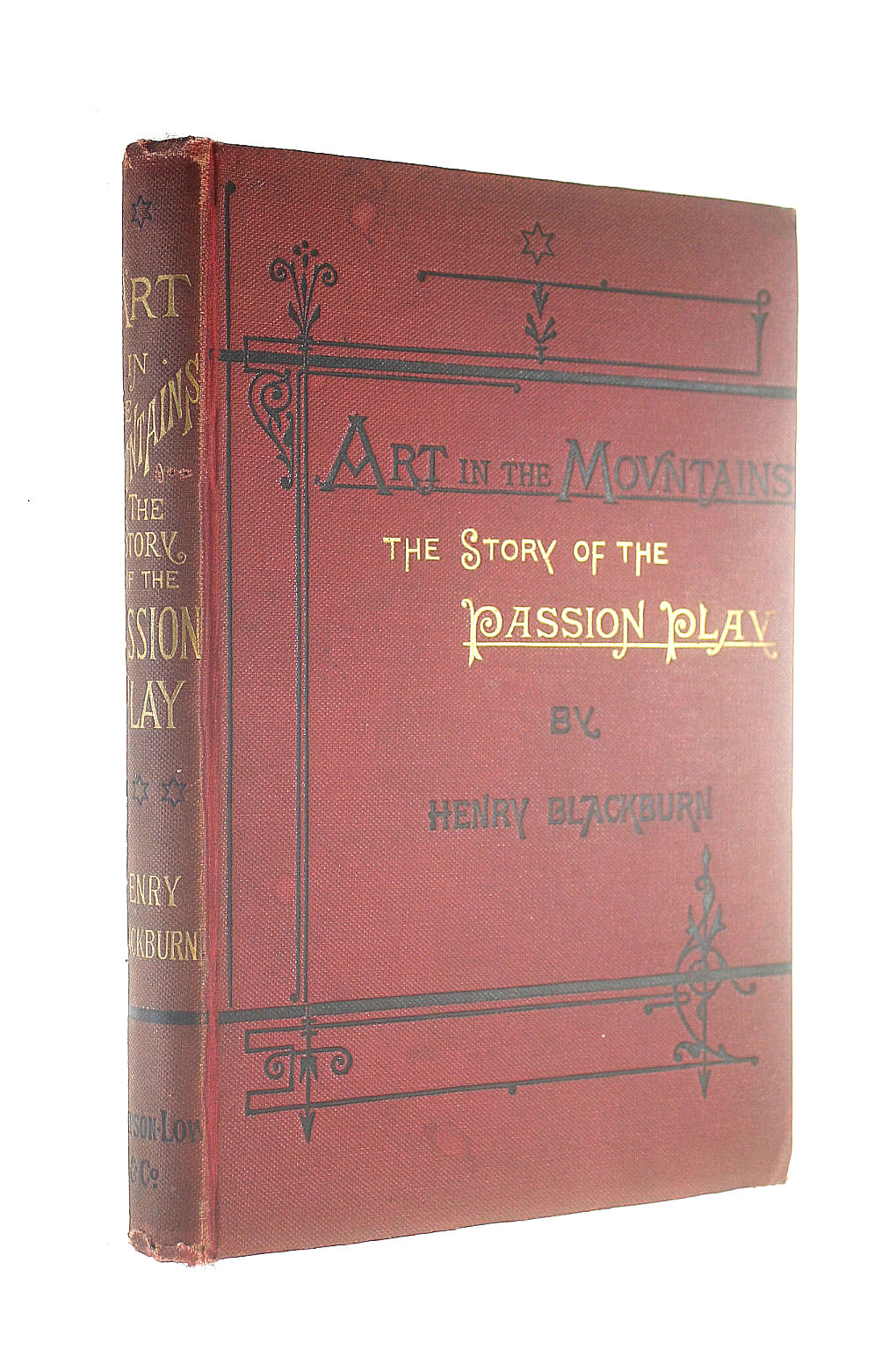 Image for Art in the Mountains: the Story of the Passion Play. by Henry Blackburn