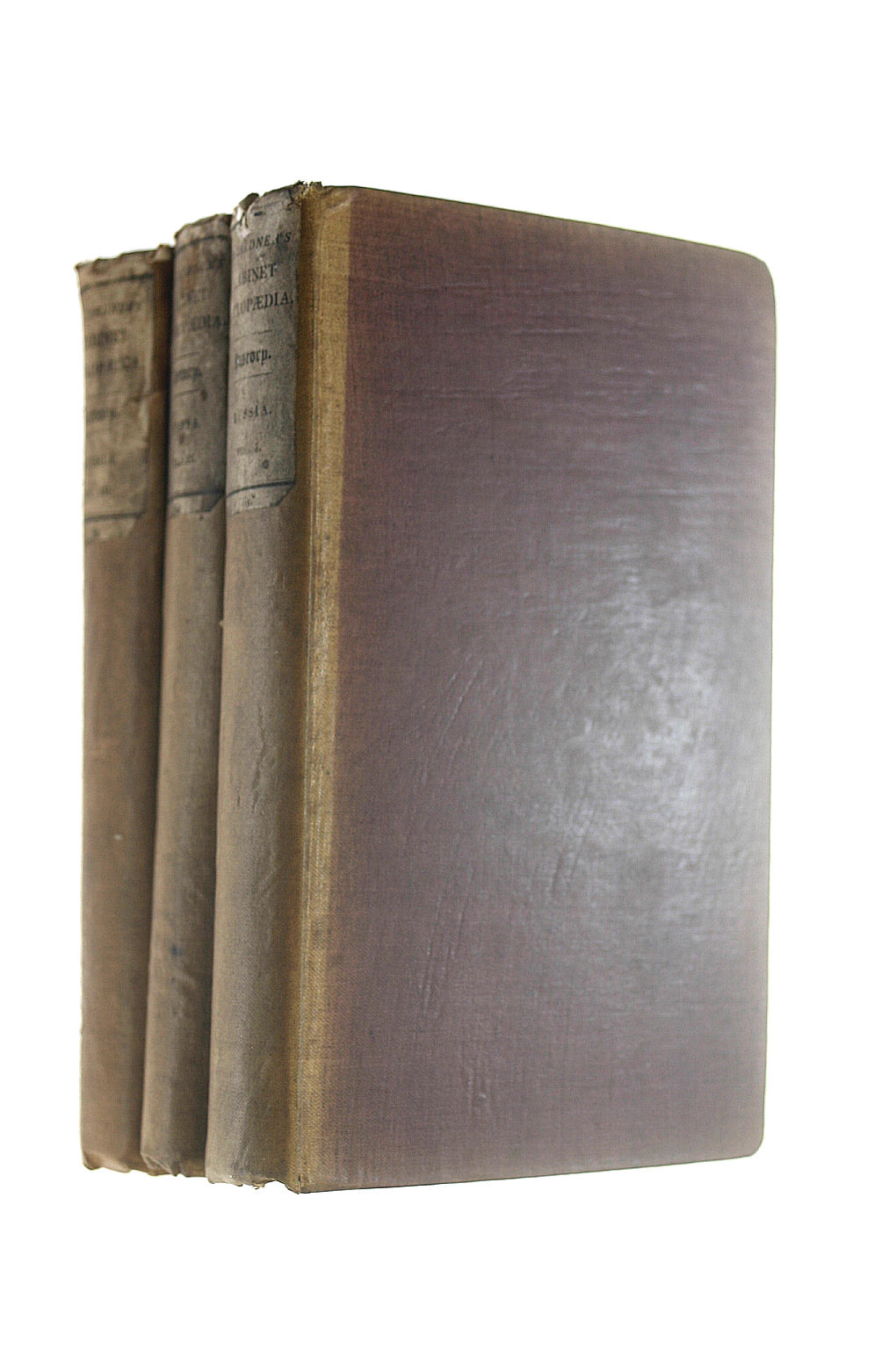Image for DR. LARDNER'S CABINET CYCLOPAEDIA. HISTORY: RUSSIA 3 VOLUMES