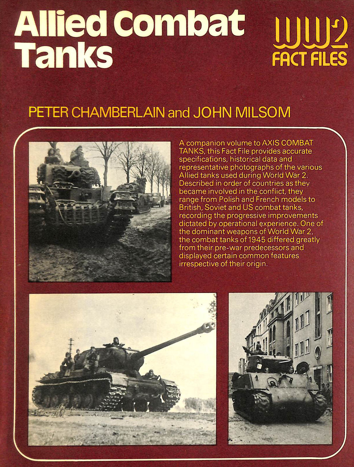 Image for Allied combat tanks (World War 2 fact files)