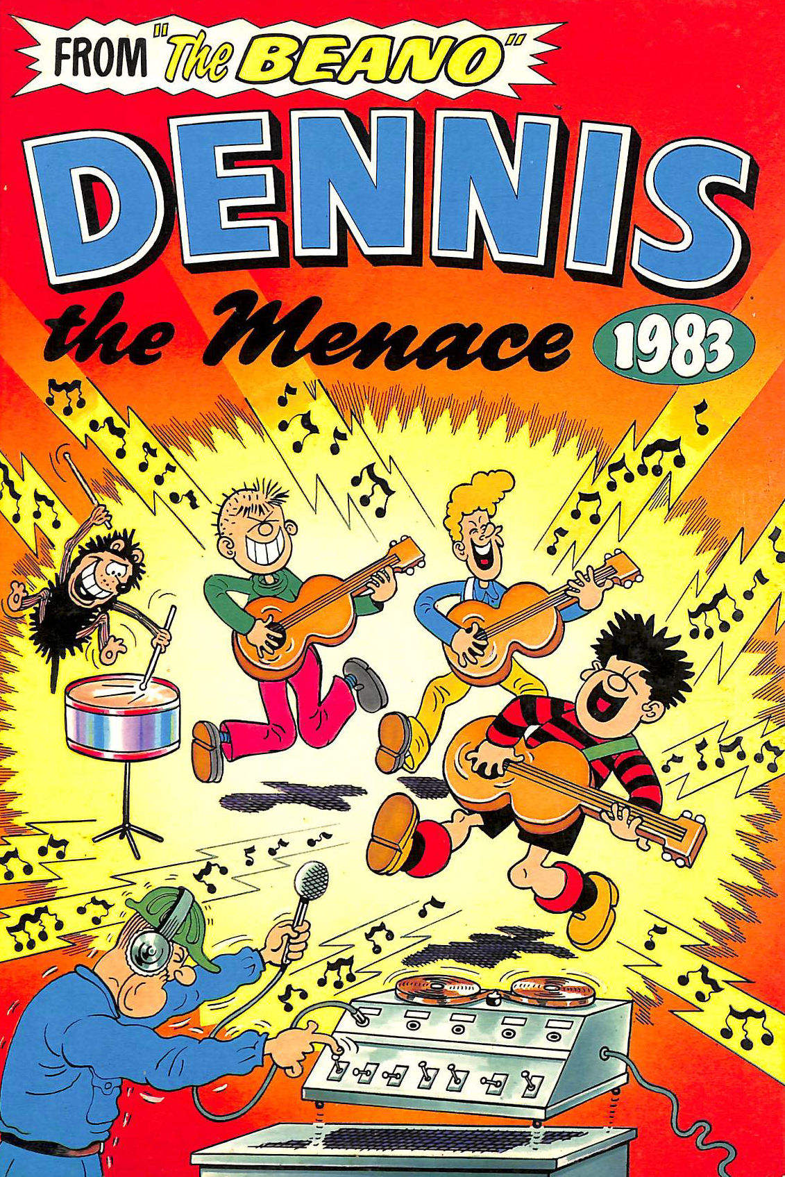 Image for Dennis the Menace 1983 Annual (from the Beano)