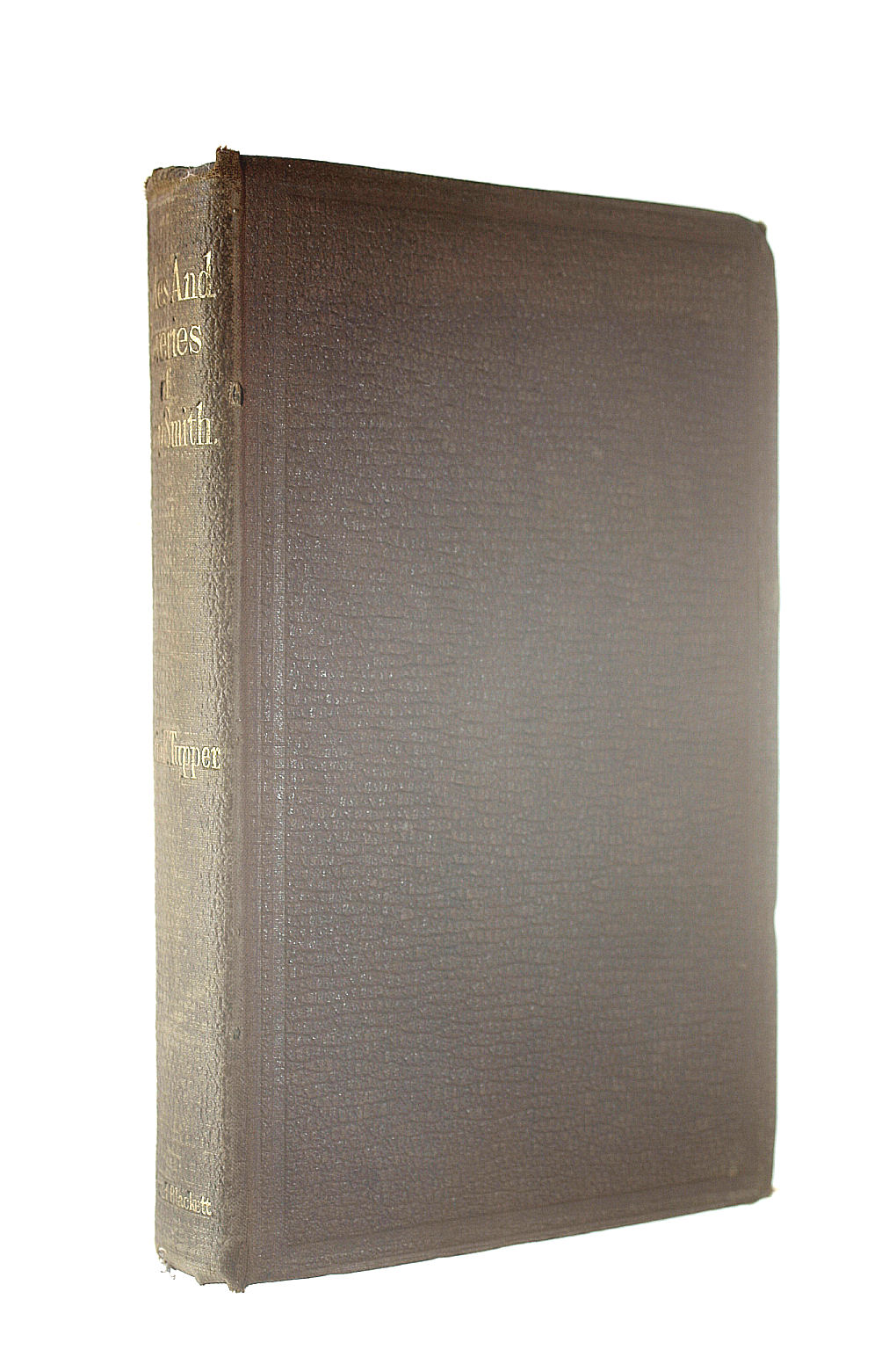 Image for Rides and Reveries of the Late Mr. Aesop Smith. Edited By Peter Query, Fsa (Martin F. Tupper)