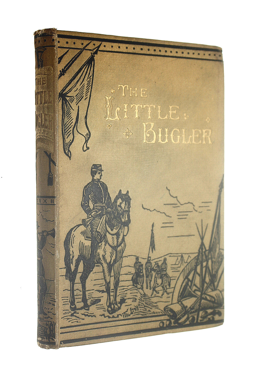 Image for The little bugler: A tale of the American Civil War
