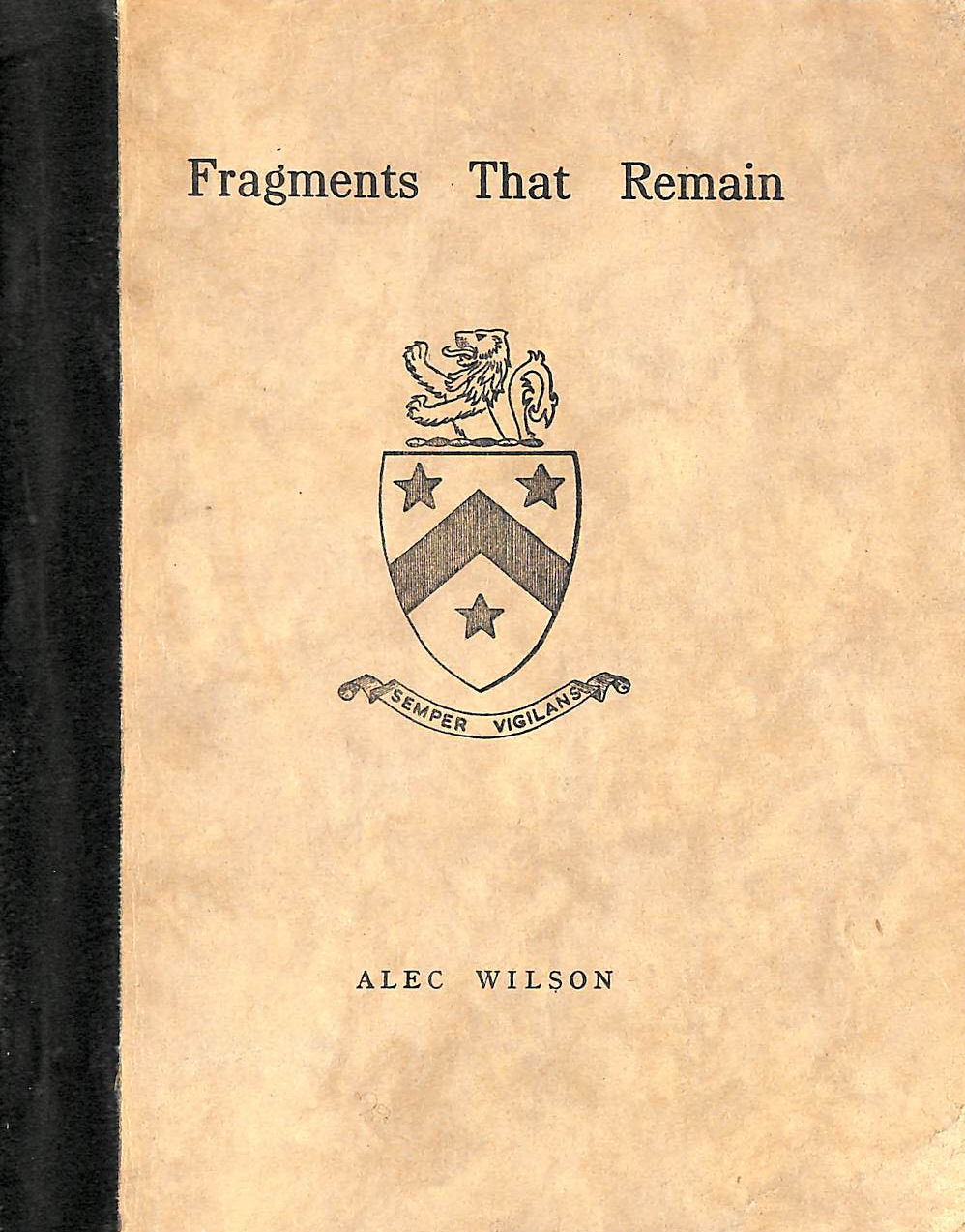 Image for Fragments that remain