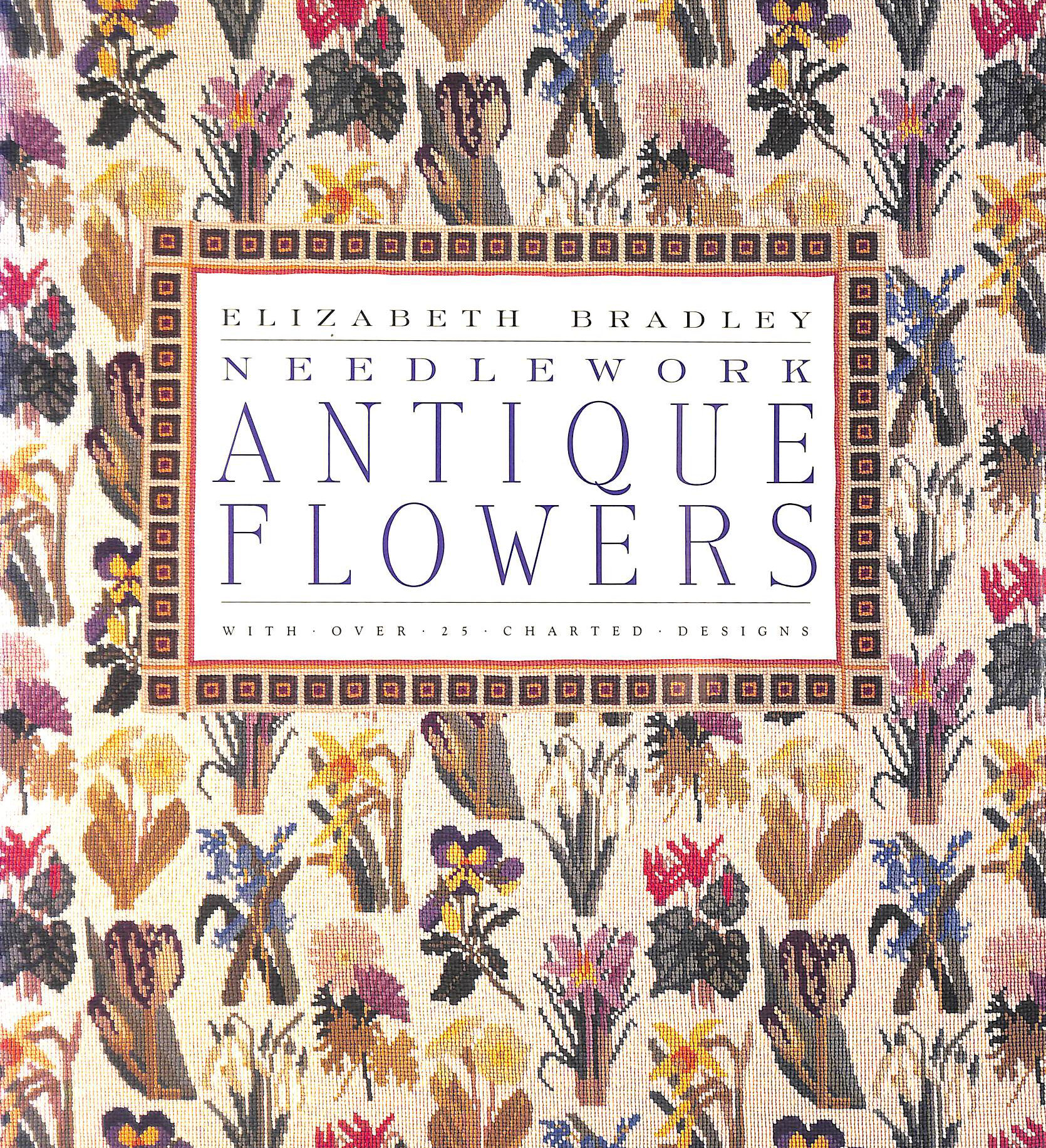 Image for Antique Flowers in Needlework