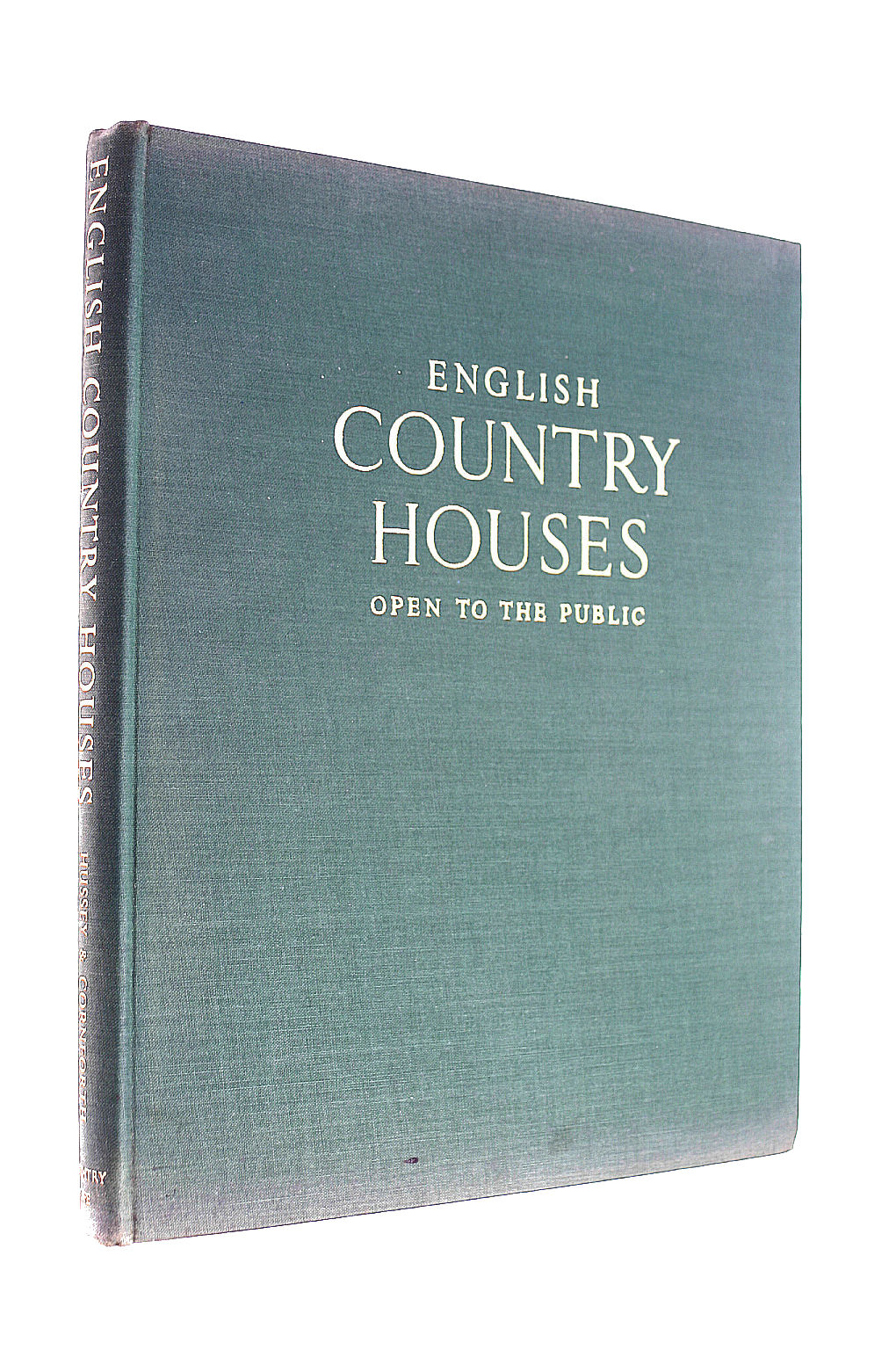 Image for English Country Houses, Open to the Public