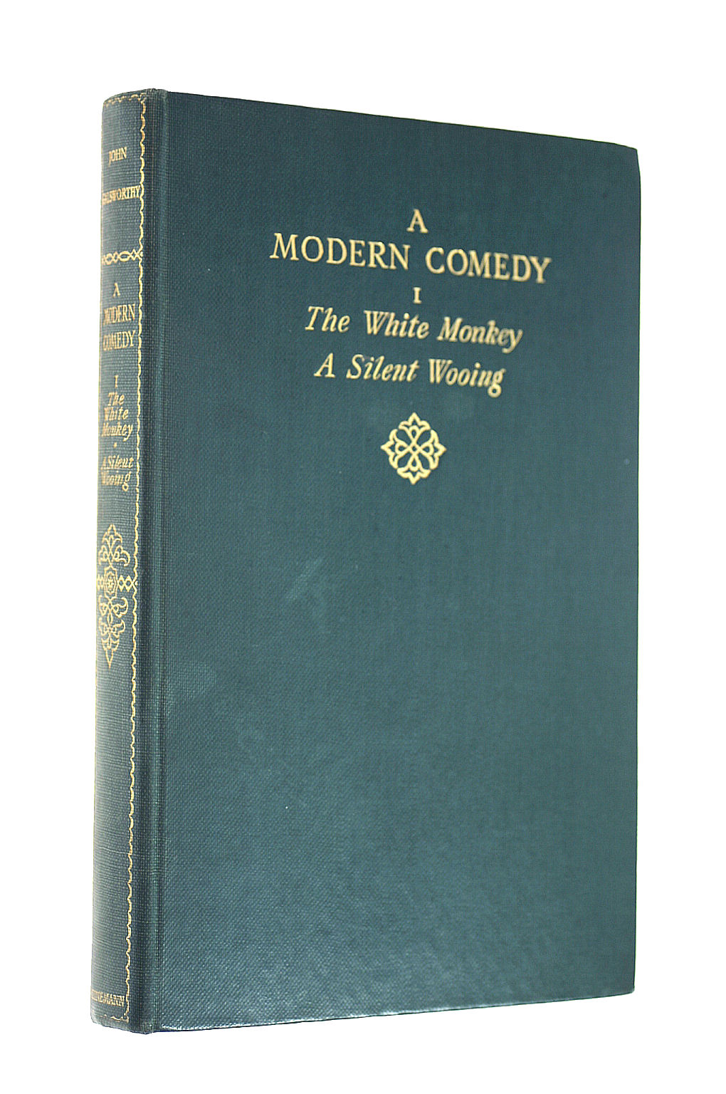Image for A Modern Comedy Volume I : The White Monkey and a Silent Wooing