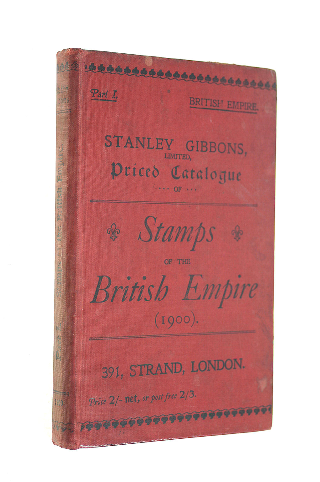 Image for Stanley Gibbons' Limited Priced Catalogue of Stamps of the British Empire (1900)