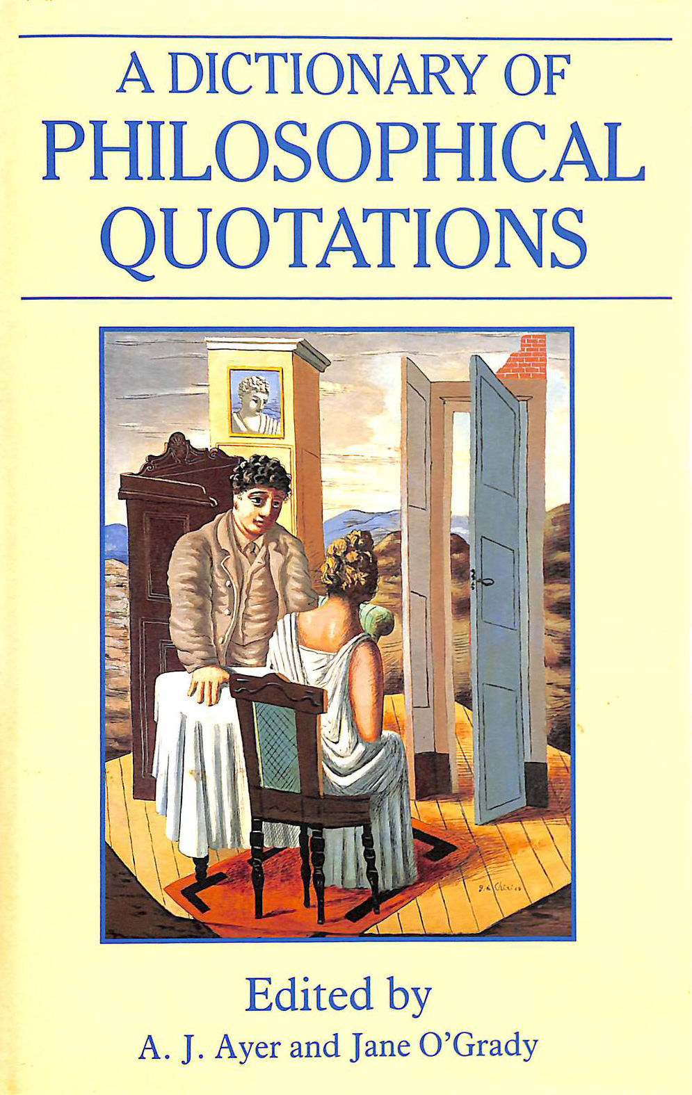 Image for A Dictionary of Philosophical Quotations (Blackwell Reference)