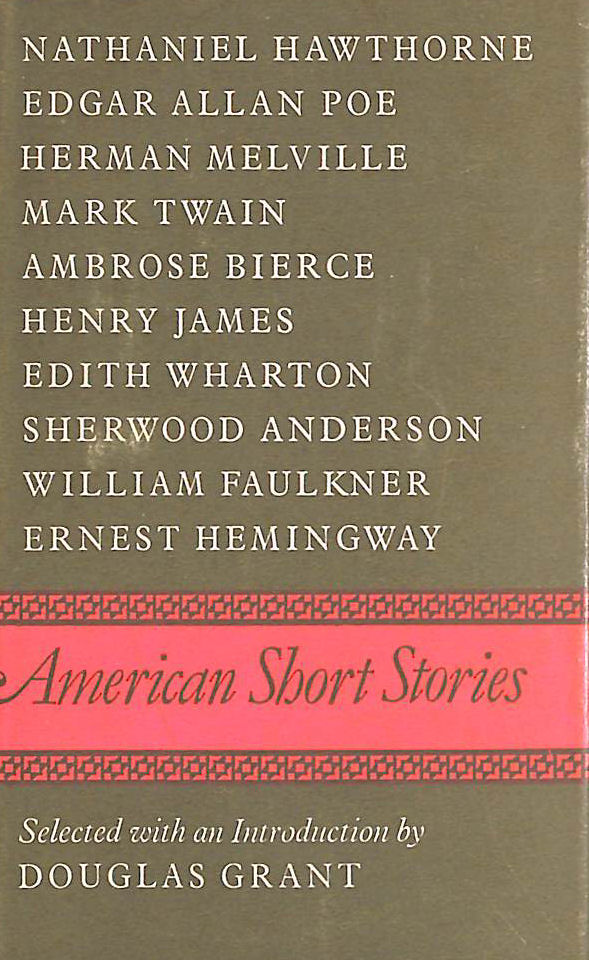 Image for American Short Stories (World's classics-no.605)