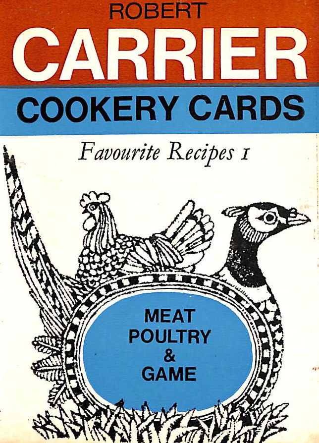 Image for Robert Carrier Cookery Cards - Favourite Recipes 1 - Meat, Poultry and Game
