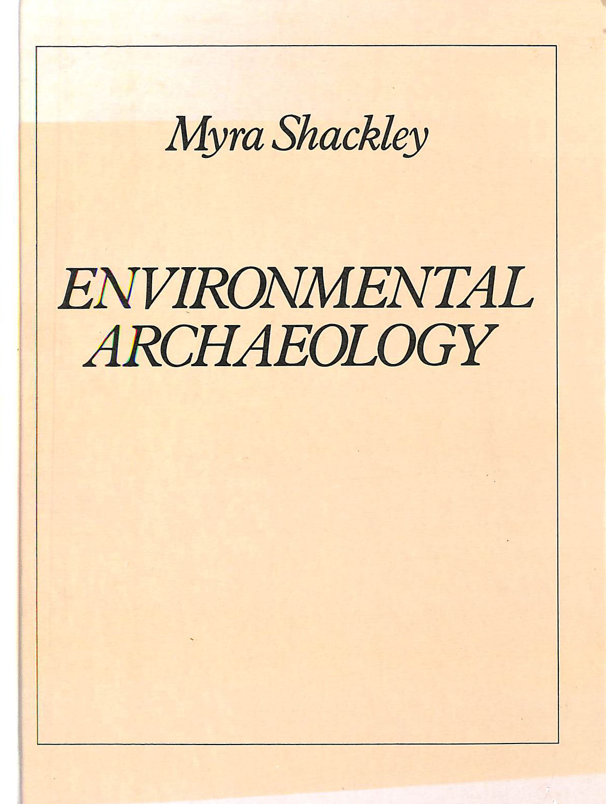 Image for Environmental Archaeology