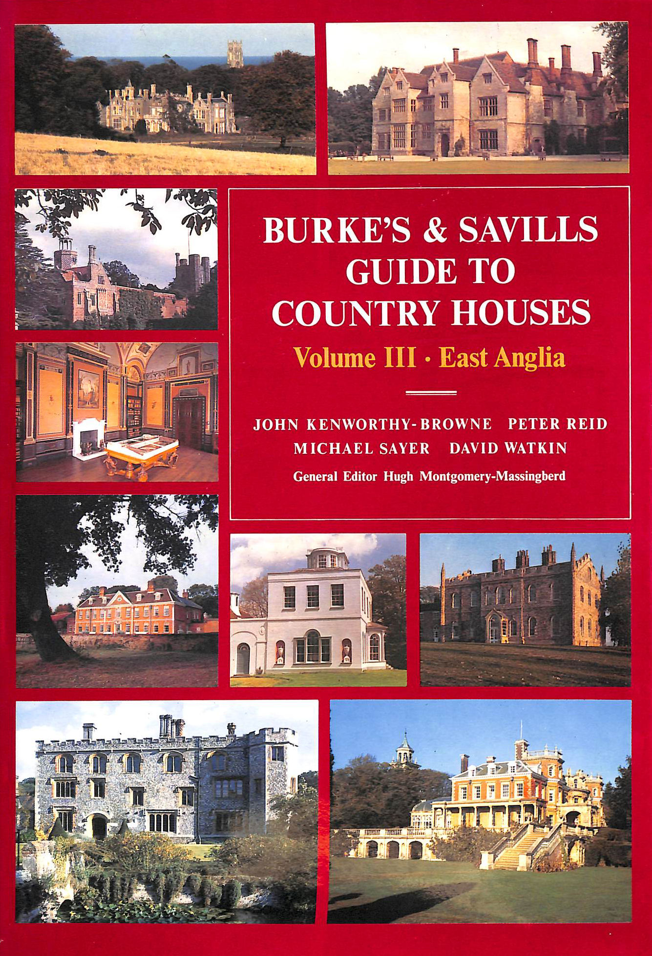 Image for Burke's and Savills Guide to Country Houses: volume III, East Anglia