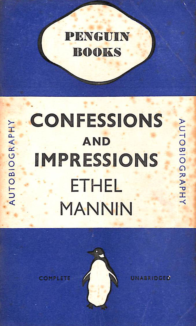 Image for Confession and Impressions