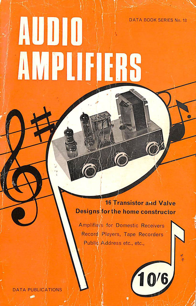 Image for Audio amplifiers (Data book series)