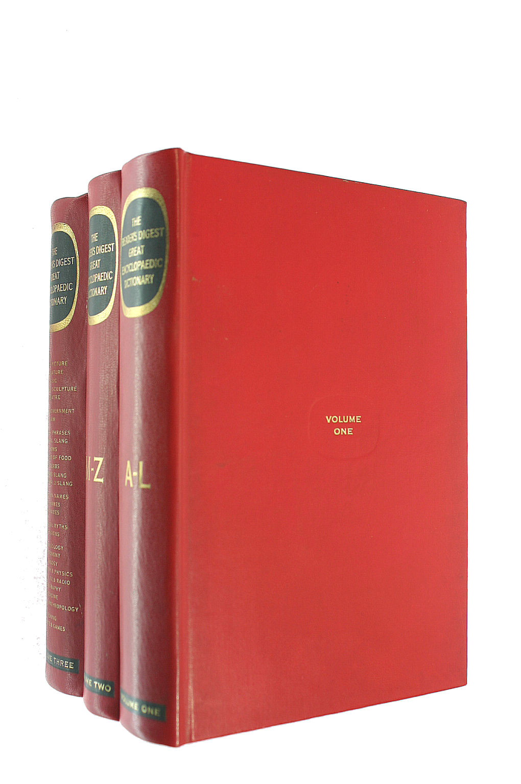 Image for Reader's Digest Great Encyclopaedic Dictionary - Three Volumes