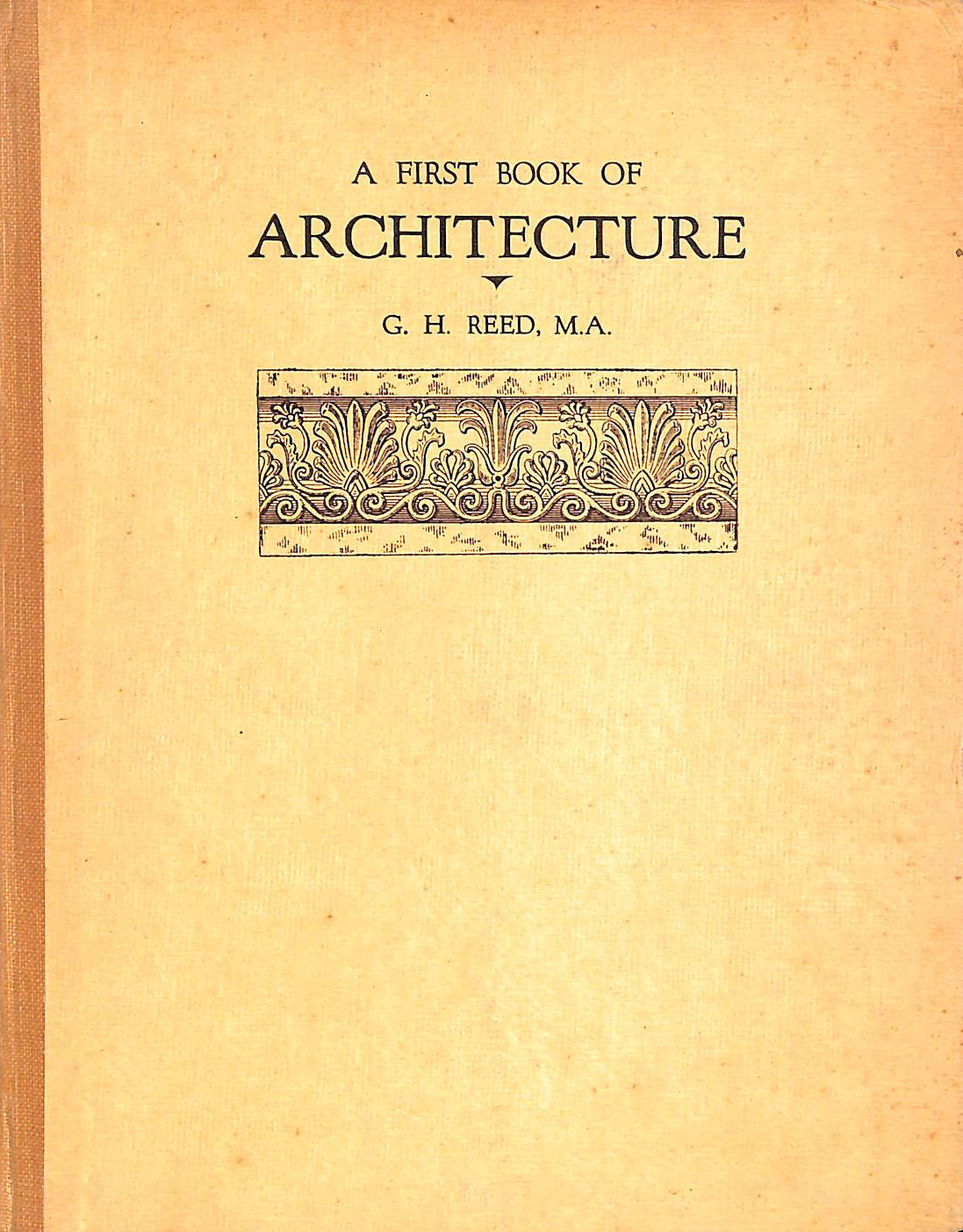 Image for A First Book Of Architecture