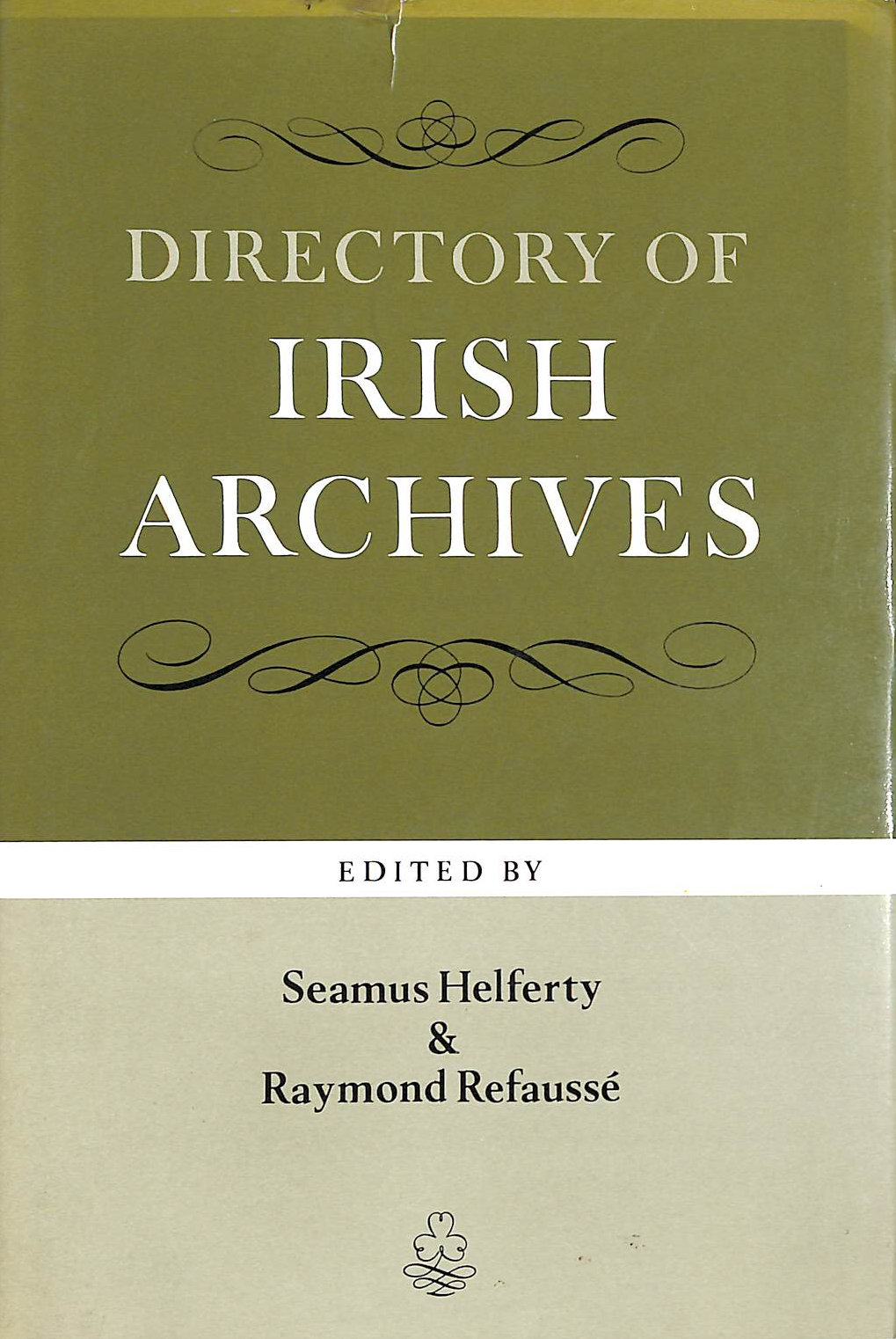 Image for Directory of Irish Archives (History)