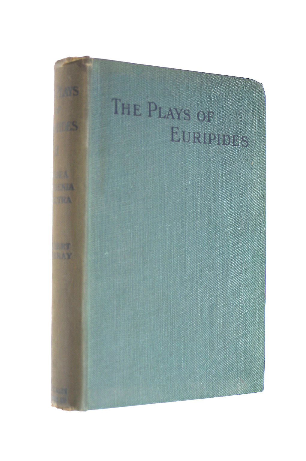 Image for The Plays Of Euripides Vol. II (2) Medea, Iphigenia in Tauris, Electra