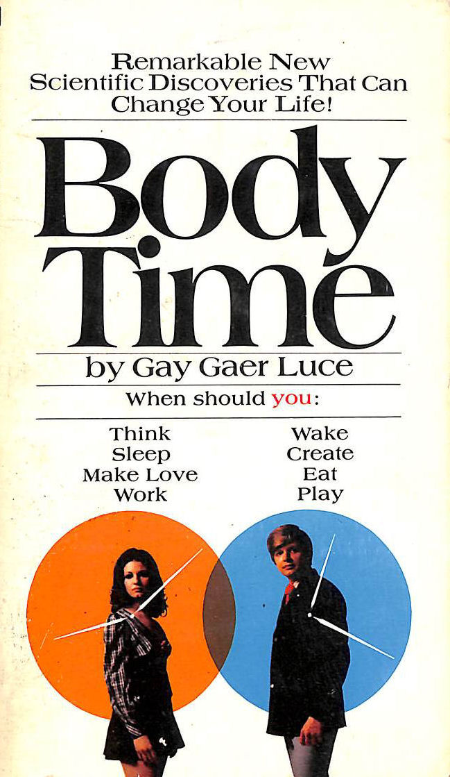 Image for Body Time: The Natural Rhythms of the Body