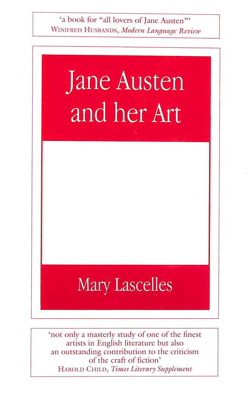 Image for Jane Austen and Her Art
