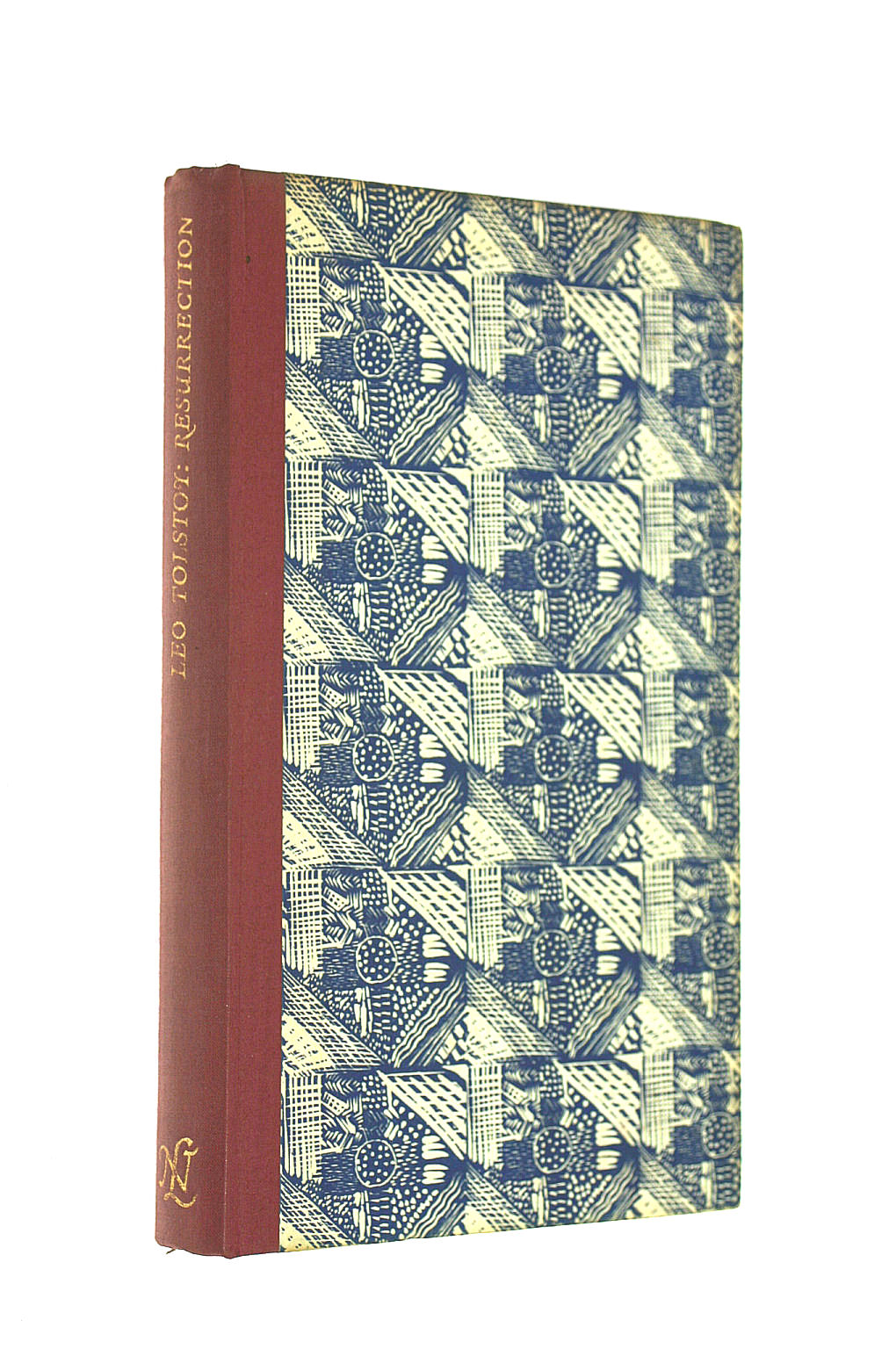 Image for Resurrection. Translated from the Russian by Vera Traill for The Novel Library