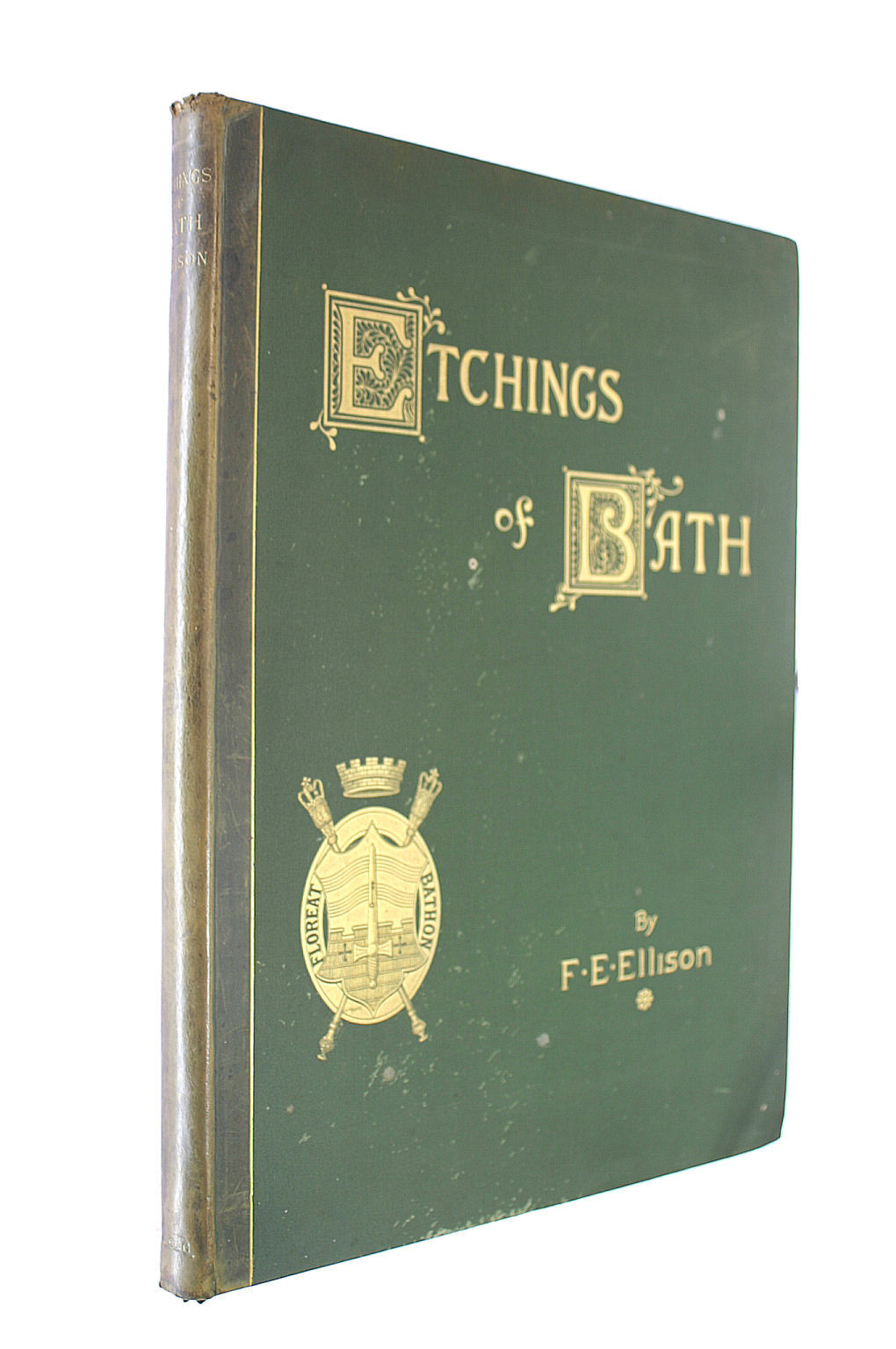 Image for Etchings Of Bath A Series Of Twenty Four Plates With Descriptive Letterpress