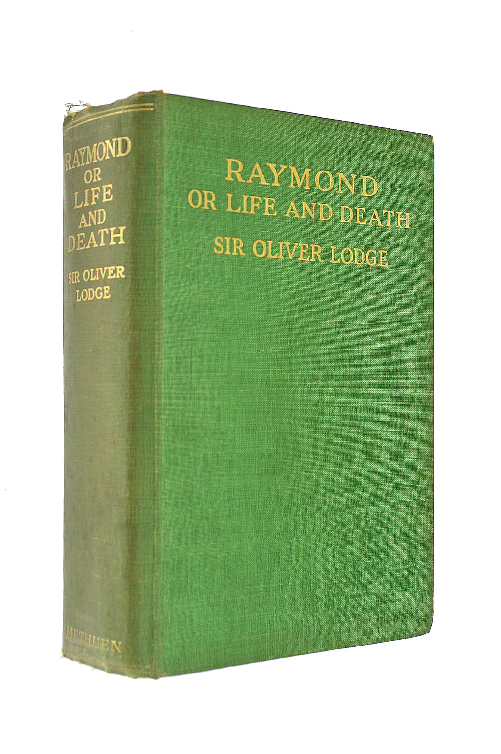 Image for Raymond, or Life and Death, with Examples of the Evidence for Survival of Memory and Affection After Death