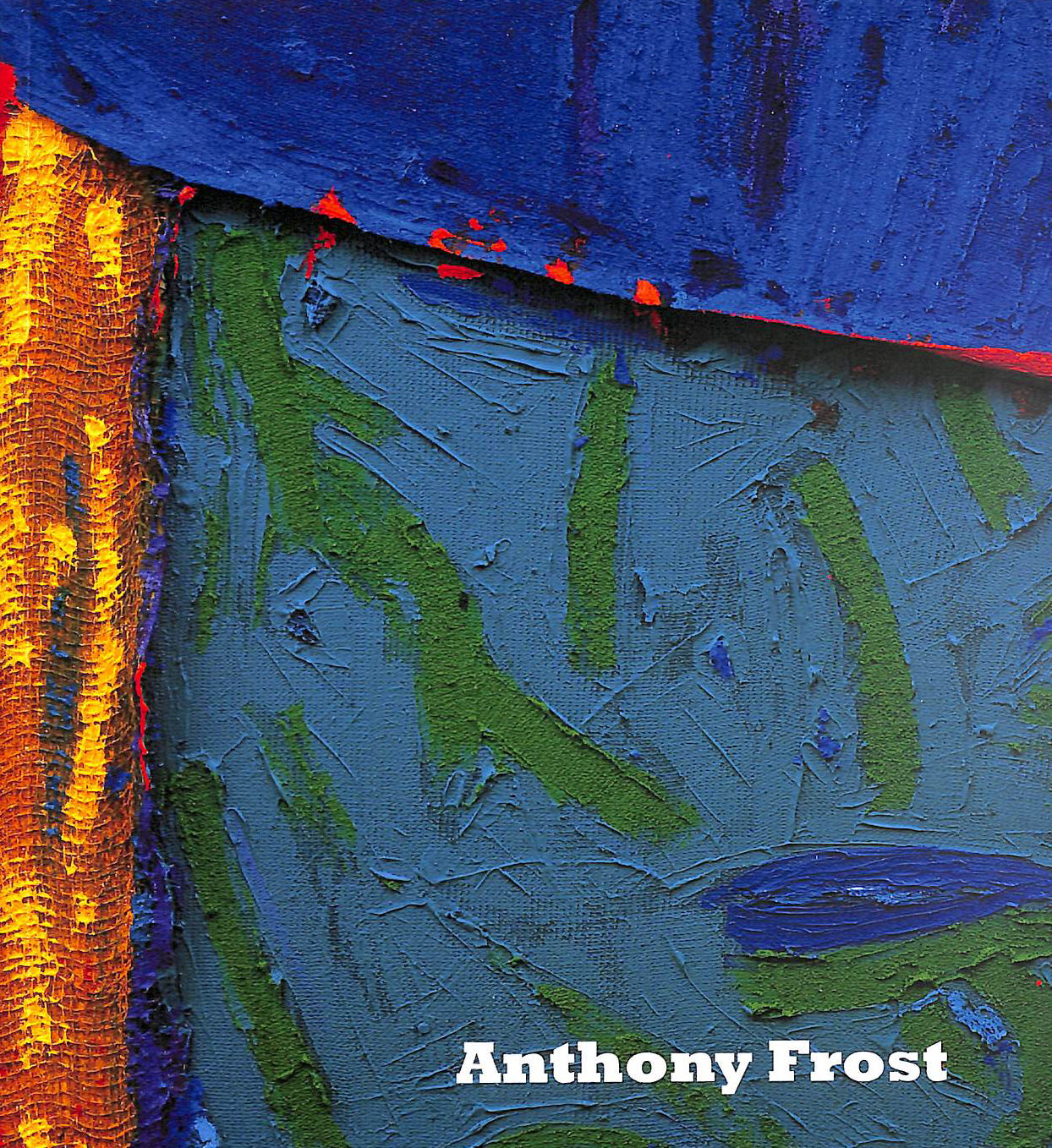 Image for Anthony Frost, The Colour of Sound