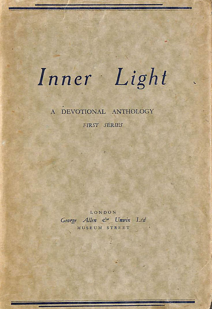 Image for Inner Light First Series A Devotional Anthology