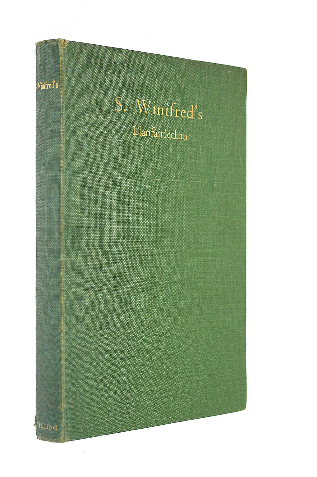 Image for S. Winifred's, Llanfairfechan: The Story Of Fifty Years, 1887-1937