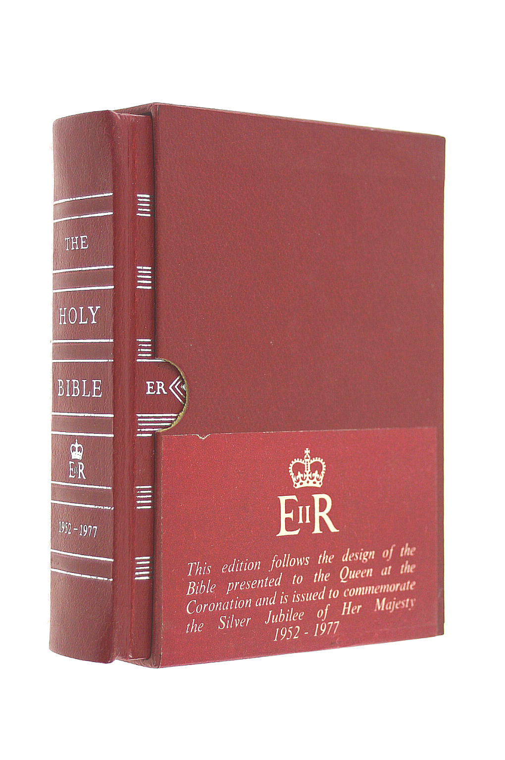 Image for The Oxford silver jubilee bible. Ruby Text Bible