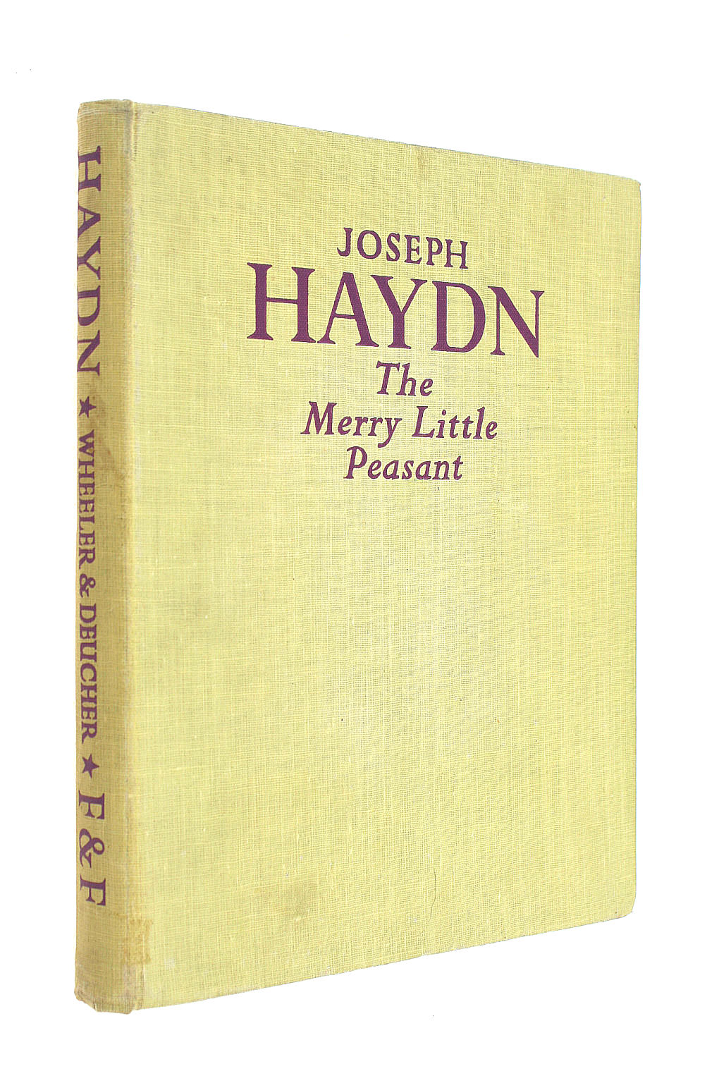 Image for Joseph Haydn The Merry Little Peasant